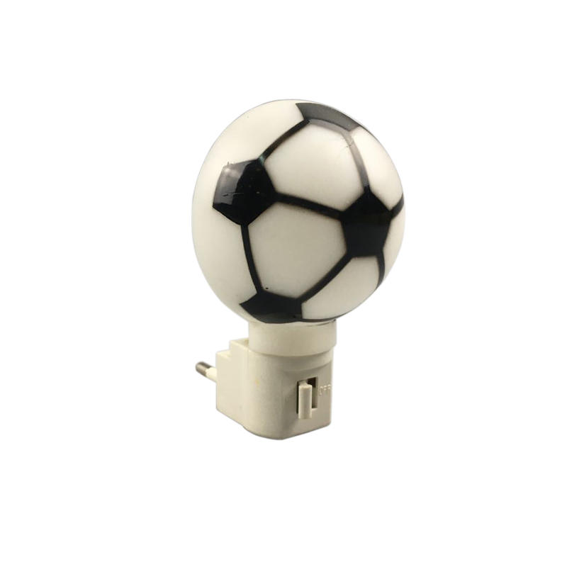 Football Plastic Switch Night Light With Bulb