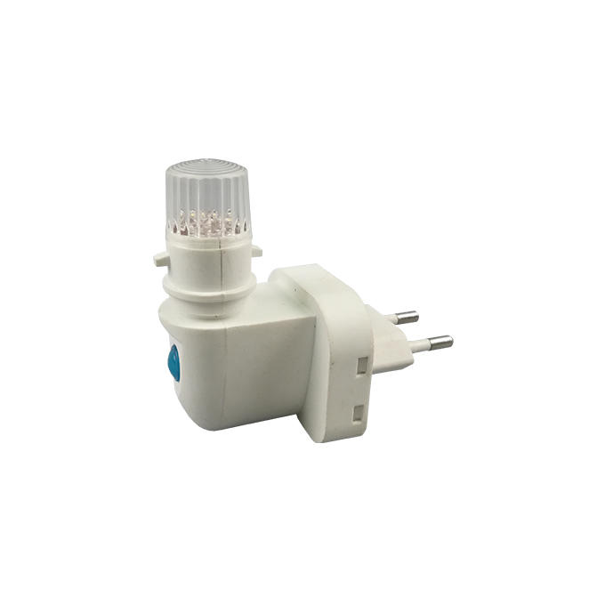 ce approved button switch e14 lamp holder socket with led light holders night light E14 rotating European plug in