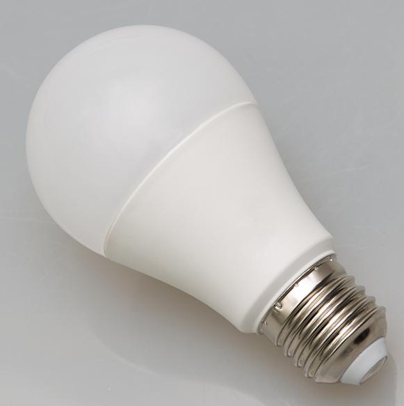 A60/A19 E26 standard bulb high CRI and lumens frosted plastic finish LED bulb