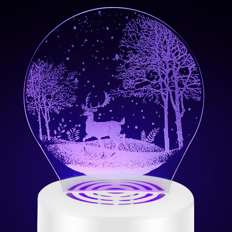 3D Acrylic night light  Mosquito killer decorative lamp