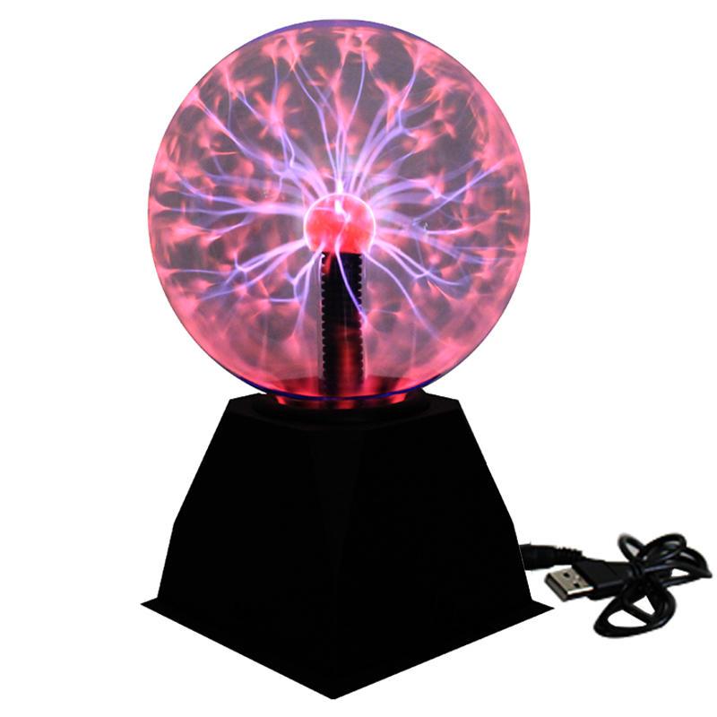 Wholesale 3-4-5-6-8 inch plasma ball magic gift valentine festival present christmas lamp Magic Crystal Desktop glow in the dark
