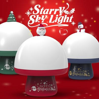 Christmas Starry Night Light