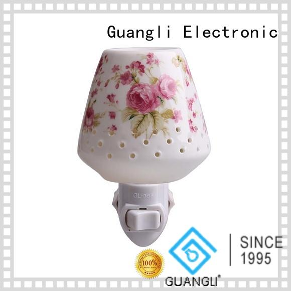 Guangli compact size wall night light manufacturer for bedroom