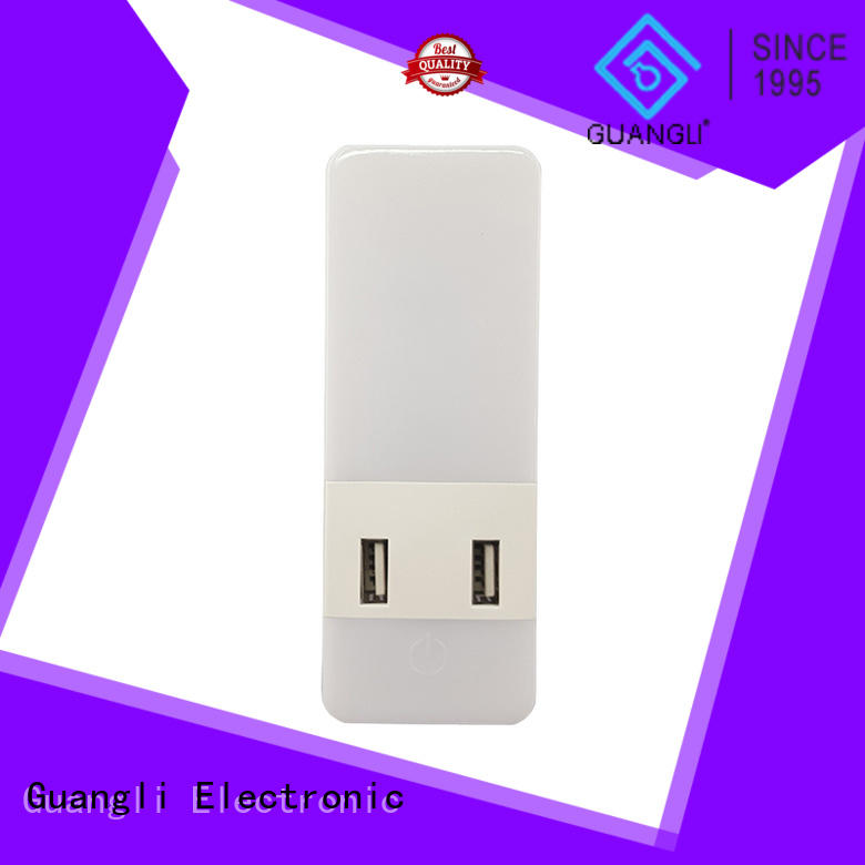 Guangli plug in sensor night light manufacturers for bedroom