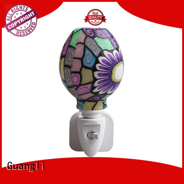 Guangli compact size wall night light directly sale for living room