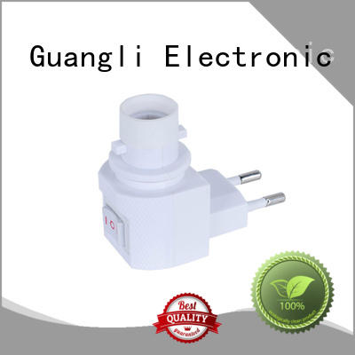 Guangli New night lamp socket factory for bedroom