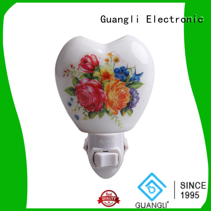Guangli Custom decorative plug in night lights company for bedroom