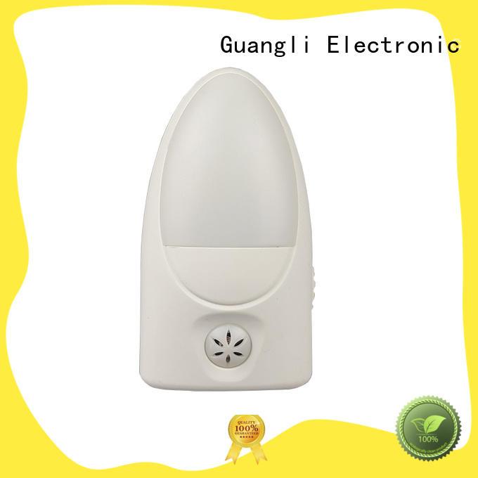 led sensor  plug in light control night light lamp for babyroom bedroom EU plug CE ROHS