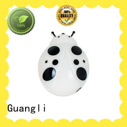 LED plug in night light sensor lamp beetle model for kids room 110V-240V EU UK