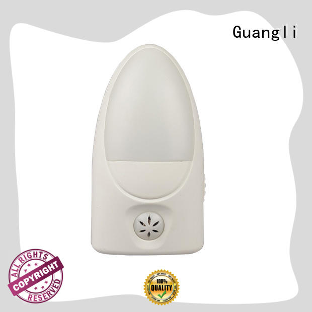 Guangli durable wall night light directly sale for bathroom