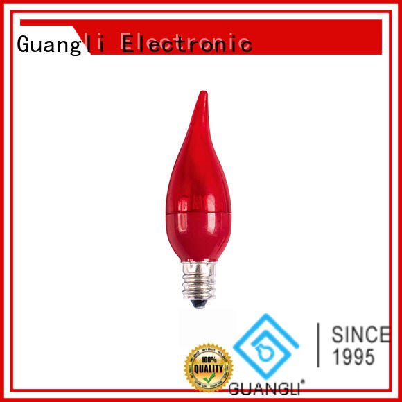 Guangli stylish e27 led bulb for garden party