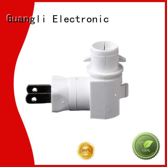 Guangli durable night light socket customized for hallway