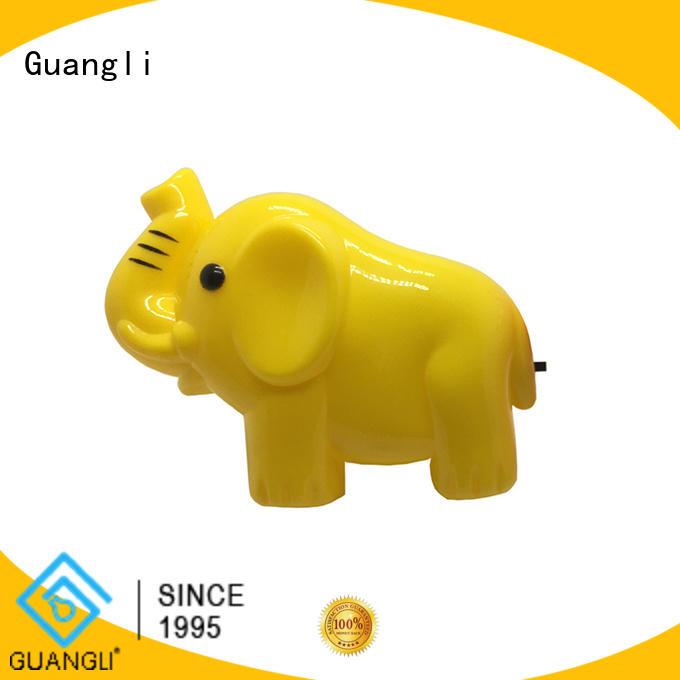 Guangli durable wall plug night light for bathroom