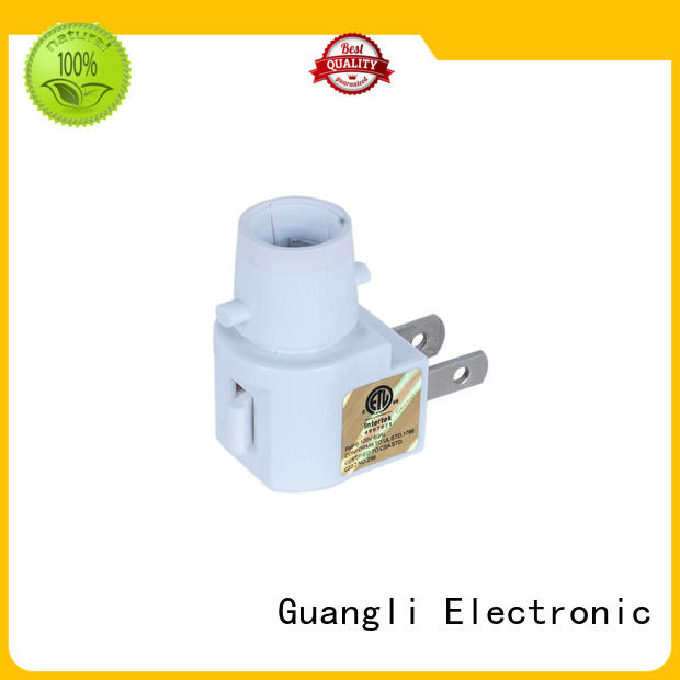 Guangli night light socket factory price for bedroom