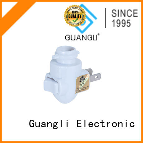 Guangli night light base socket factory price for wall light