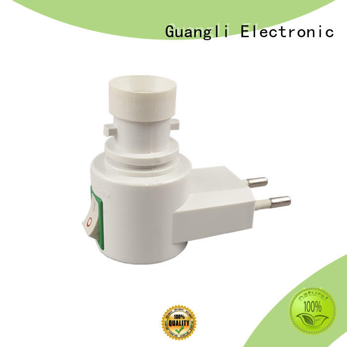 Guangli New night light socket manufacturers for wall light