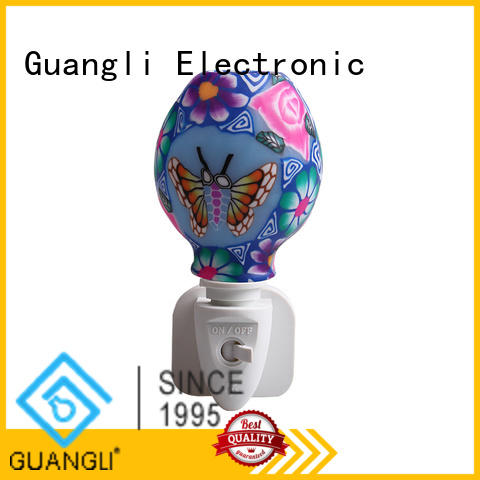 Guangli wall night light with good price for bathroom