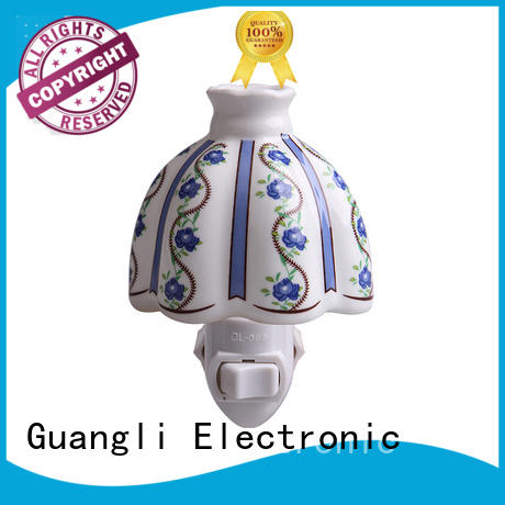 Guangli decorative plug in night lights factory