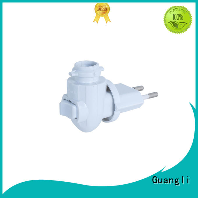 Guangli quality night lamp socket design for wall light