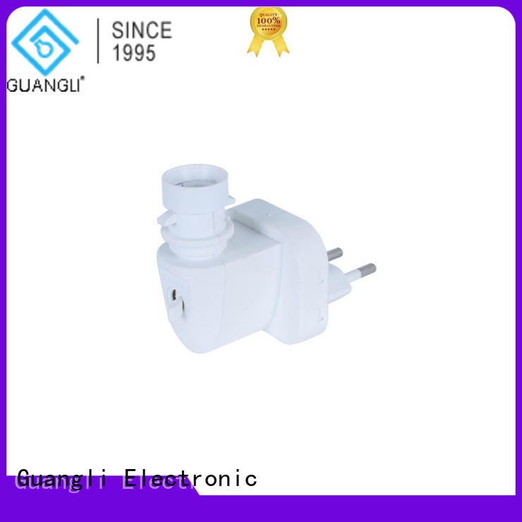 Guangli quality night light socket directly sale for wall light