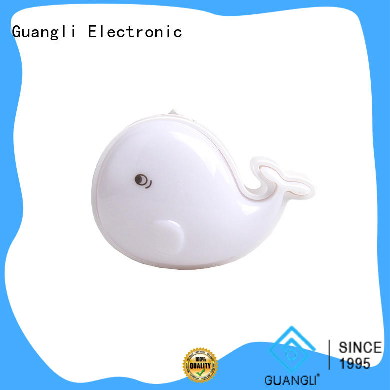 Guangli power saving wall night light manufacturer for living room