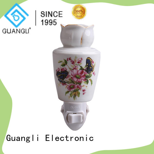 Guangli ceramic wall night light with good price for home decoration