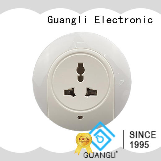 Guangli USB charger light sensor night light directly sale for baby room
