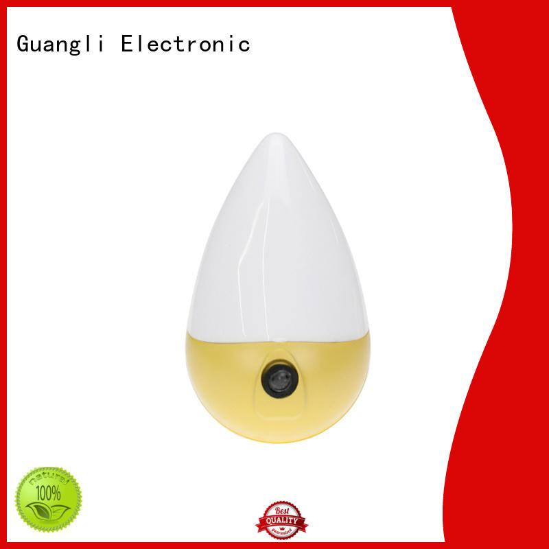 Guangli LED sensor night light manufacturer for bedroom