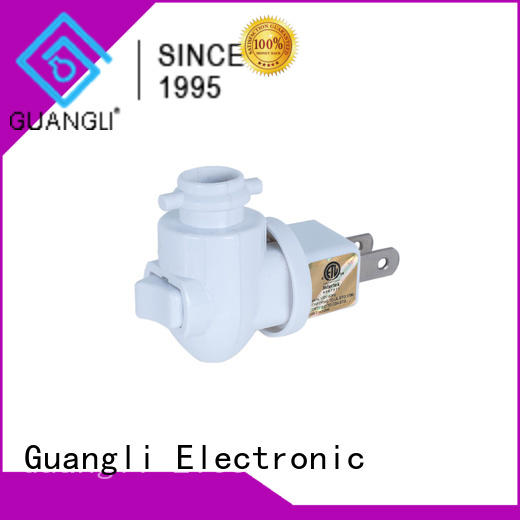 Guangli night lamp socket directly sale for hallway