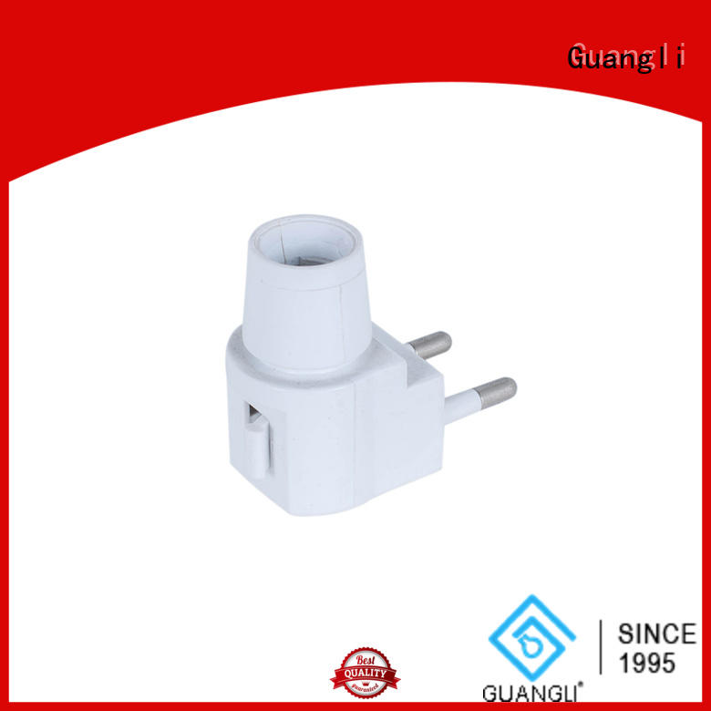 Guangli night light base socket for business for wall light
