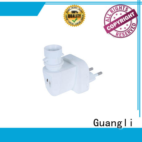night lamp socket with good price for bedroom Guangli
