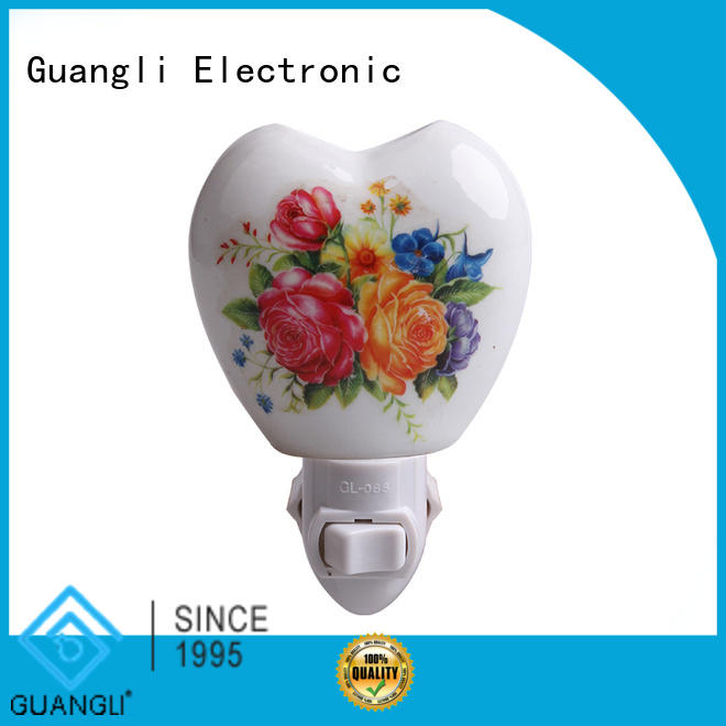 Guangli wall night light manufacturers for living room