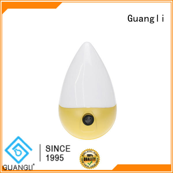 compact size light control night light wholesale for indoor