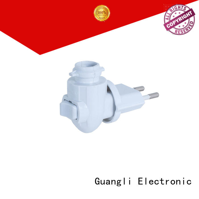Guangli night light base socket Suppliers for wall light