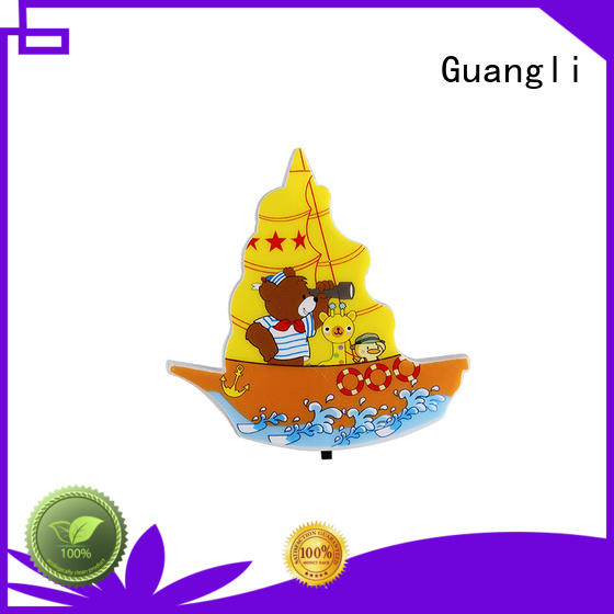 Guangli durable wall night light manufacturer for bathroom