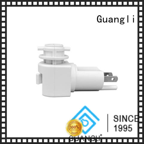 Guangli portable night light base socket manufacturer for wall light
