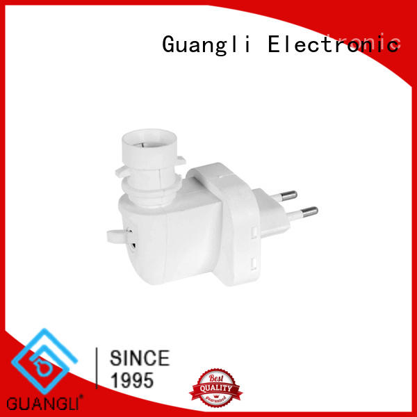 night light socket with rotating plug for hallway Guangli