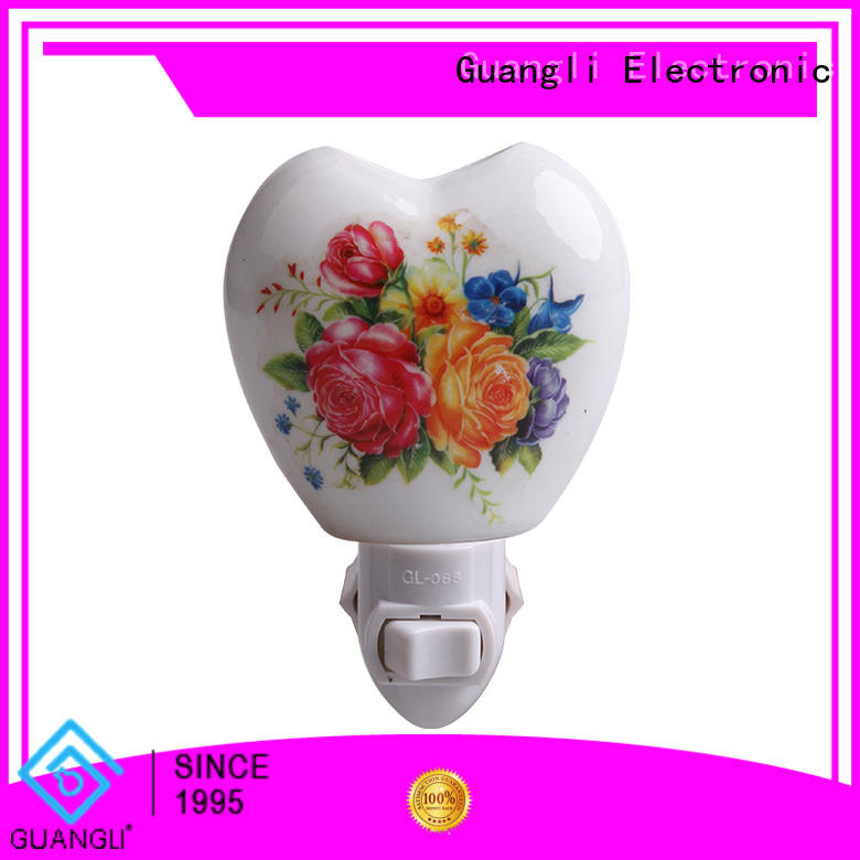 Guangli attractive decorative plug in night lights directly sale