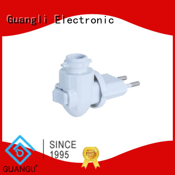 Guangli night light base socket design for bedroom