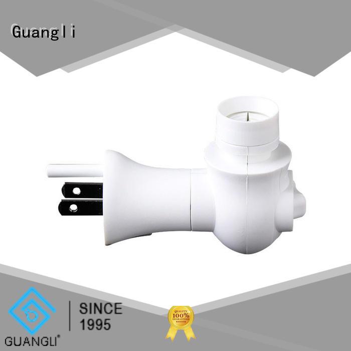 Guangli Custom night lamp socket Supply for bedroom