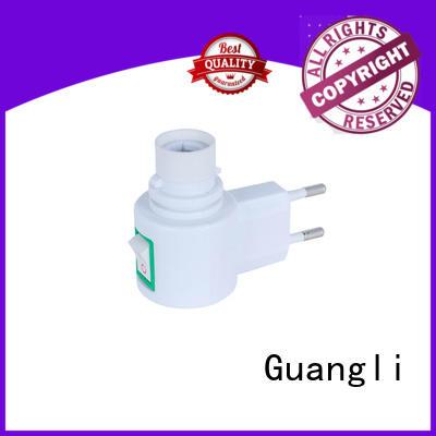 Guangli durable night light base socket wholesale for bedroom