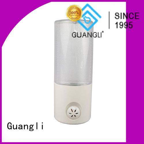 Guangli light sensor night light company for indoor