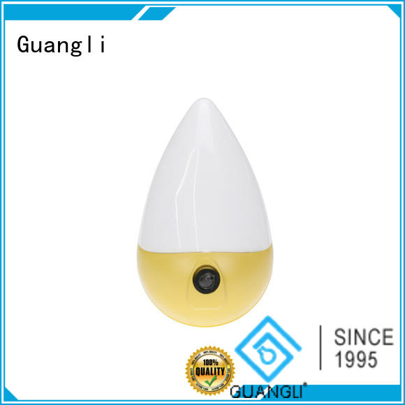 Guangli ceramic wall night light with good price for bedroom