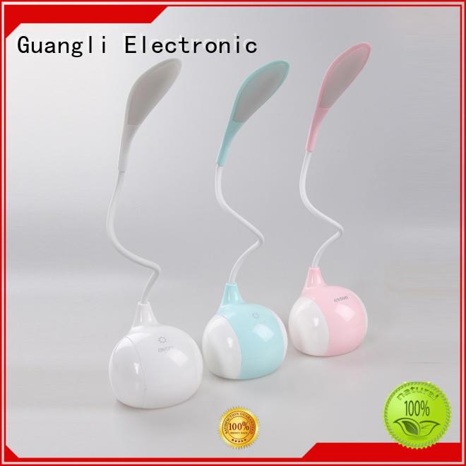 USB charging desk lamp touch sensor table lamp for reading 5V