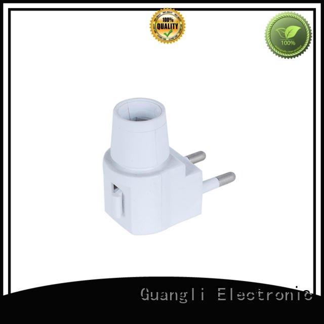 Guangli night light base socket with good price for hallway
