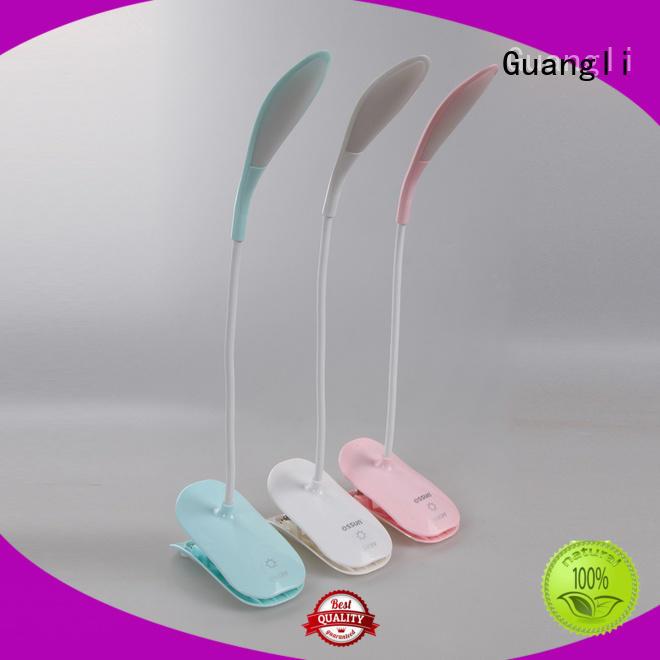 Dimmable Eye Caring LED desk lamp USB rechargeable Reading Light Clip on Light for Desk