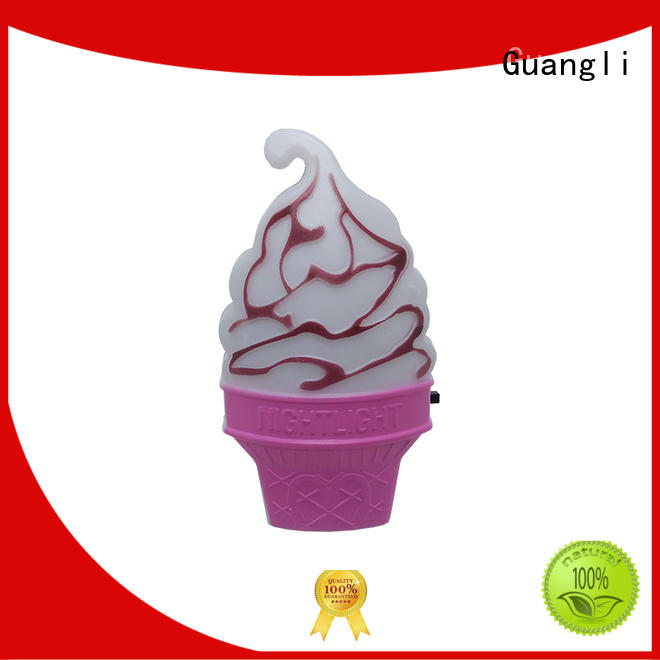 Guangli quality kids plug in night light manufacturer for home decoration