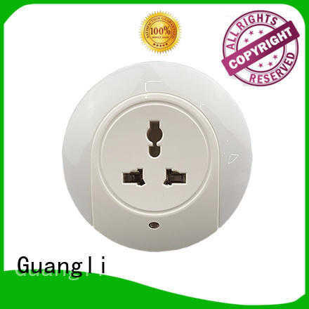 Guangli New plug in sensor night light factory for bedroom