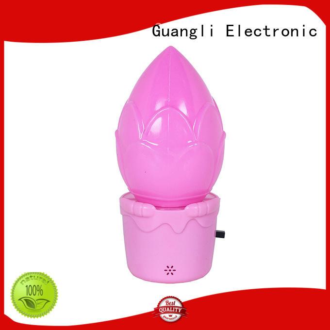 Guangli power saving wall night light factory price for bathroom