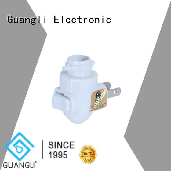 Guangli night lamp socket company for hallway